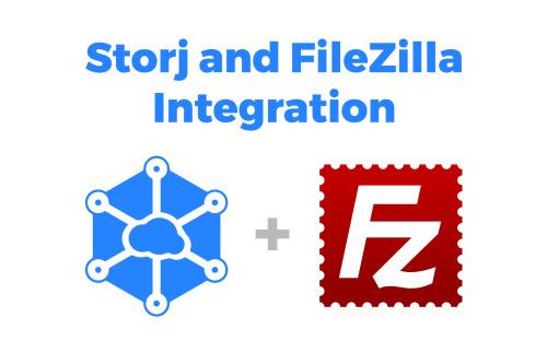 filezilla storj cloud